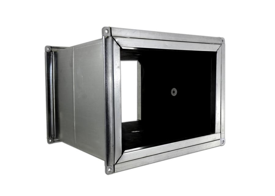 Tuventi conducto rectangular con uni n transversal vaina - Conductos de chapa ...